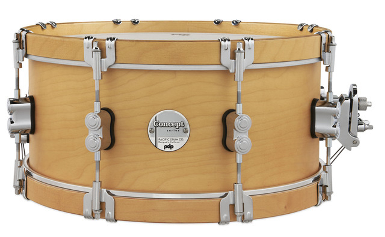 Classic 6.5x14 Natural/Natural Hoops