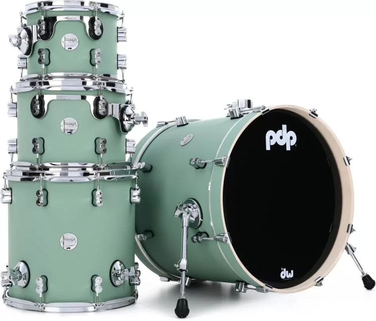 Concept Maple Satin Seafoam CR HW 4PC