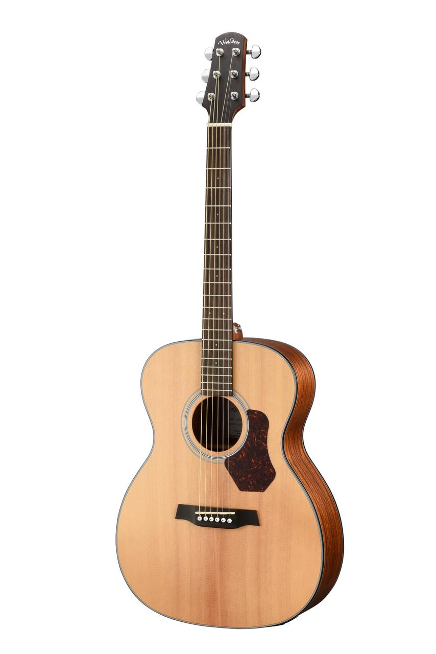 WALDEN O550E Natura Solid Spruce Top Orchestra Acoustic-Electric - Open Pore Satin Natural
