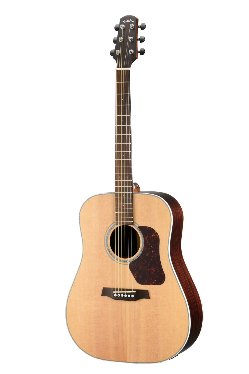 WALDEN D800E Natura All-Solid Sitka/Rosewood Dreadnought Acoustic-Electric - Satin Natural