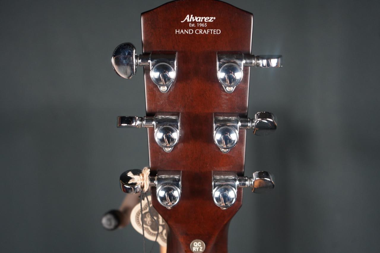 Alvarez Artist Elite Grand Auditorium Acoustc Electric w/Slim Bevel Edge Armrest, Cutaway, EQ & Tuner