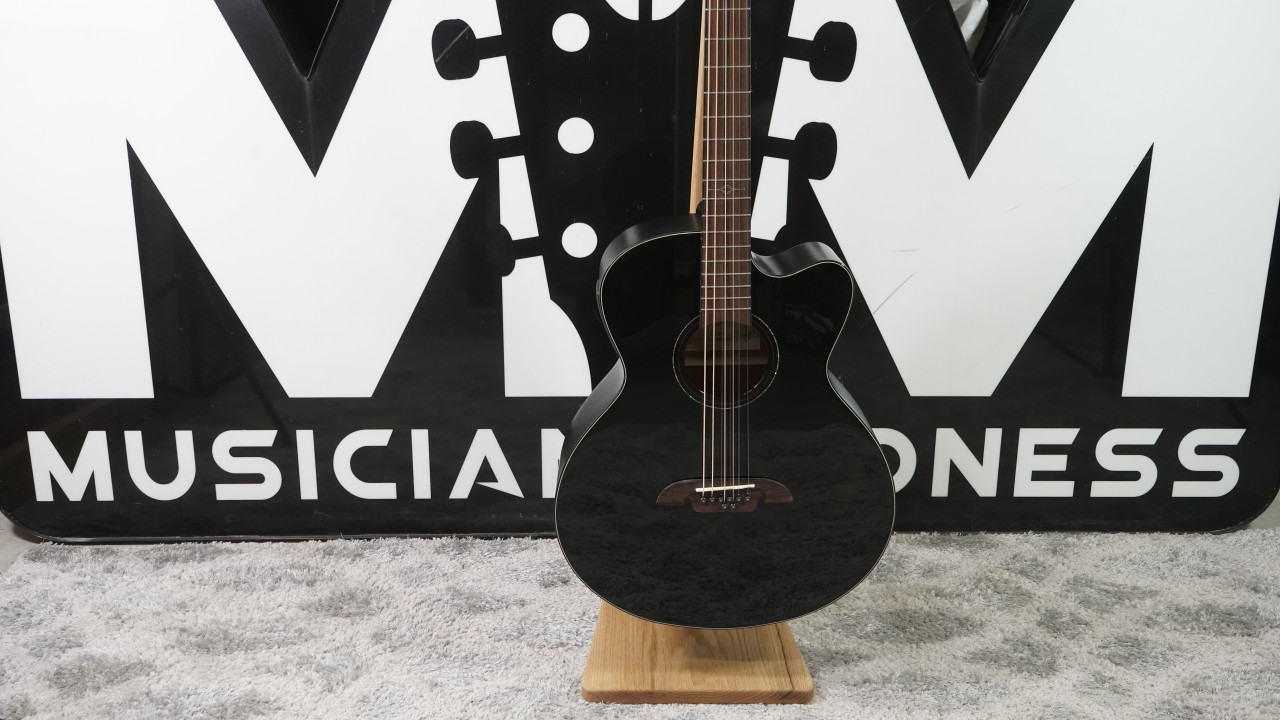 Alvarez Baritone 8-String Acoustic Electric w/Cutaway Black