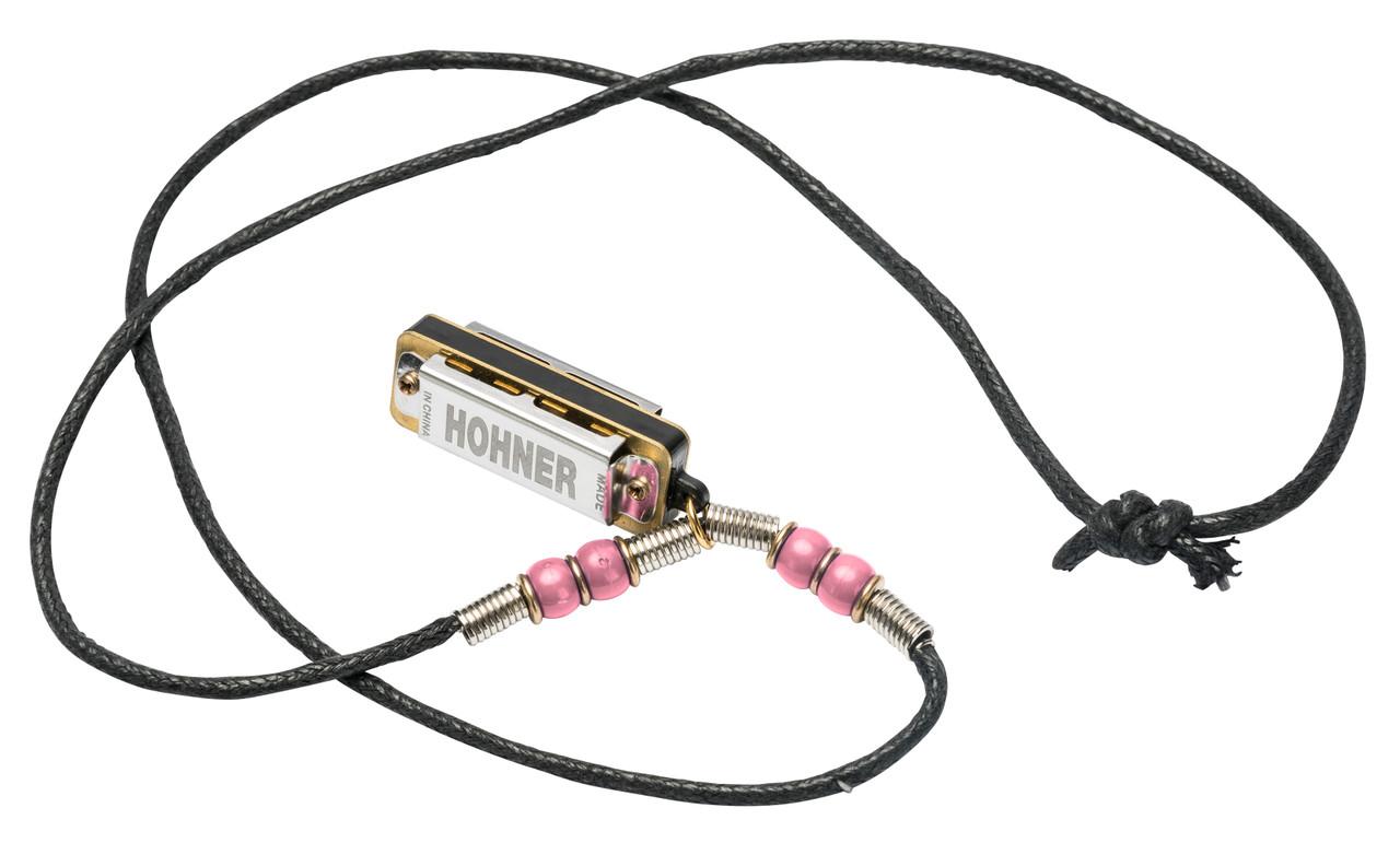 HOHNER Mini Harmonica Necklace 20 PCS 5 Colors