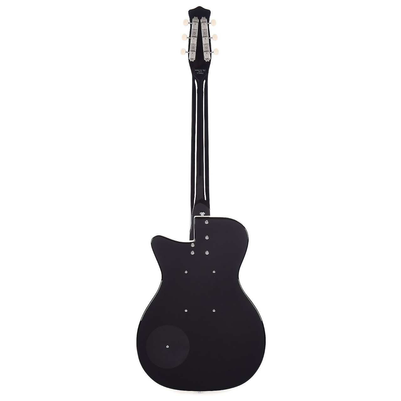 Danelectro D57JADE-BLACK Single Cutaway Shape Semi Hollow C Shape Neck 6-String Electric Guitar