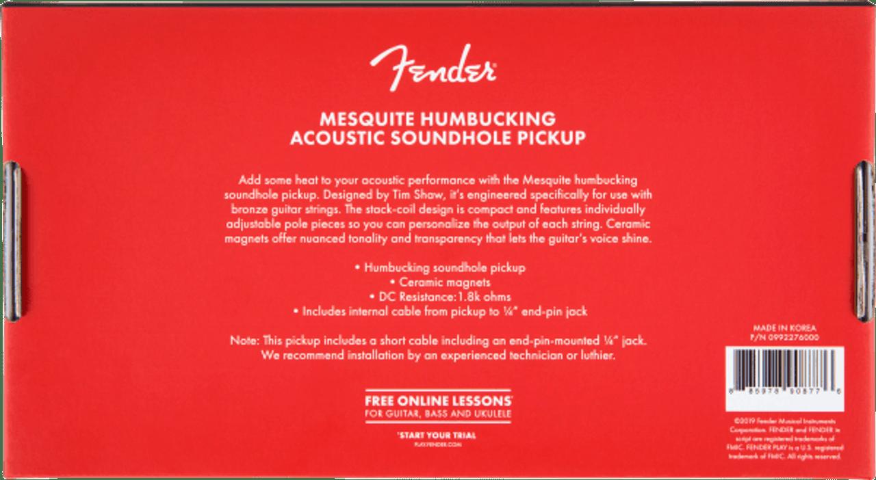 Fender Mesquite Humbucking Pickup