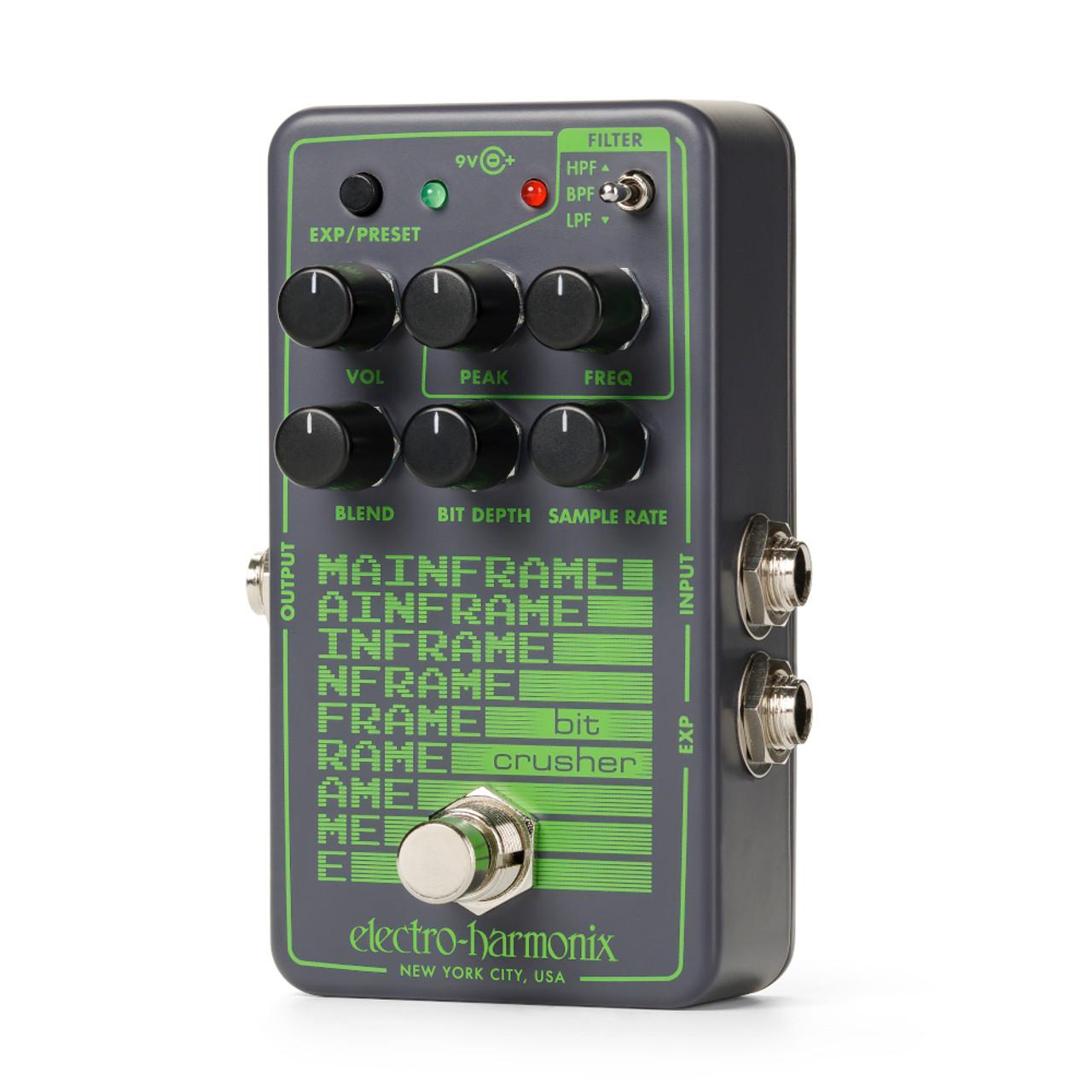 Electro Harmonix Mainframe Bit Crusher (Free 2-Day Shipping)