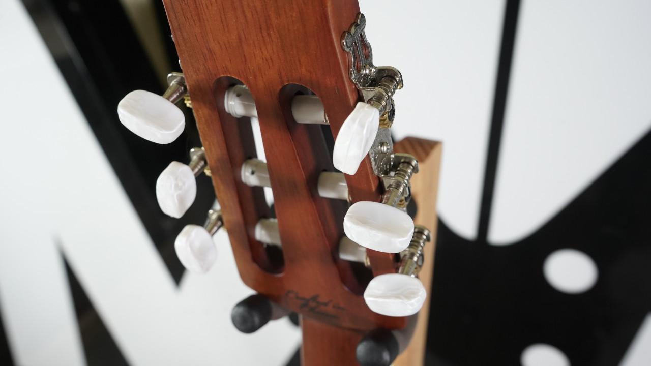 Ovation Applause Balladeer AB24CII-CED Mid Depth Classical Guitar, Natural Cedar