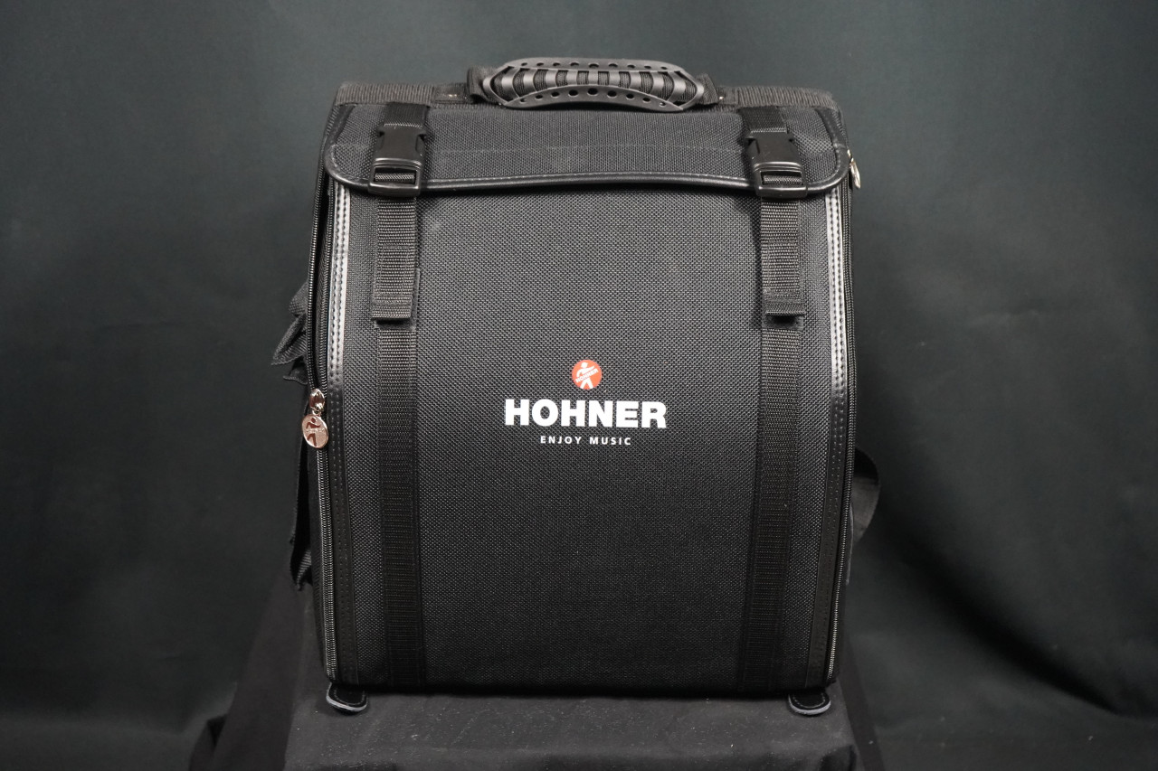 Hohner Corona C-II Red to Gold Accordion (FA)
