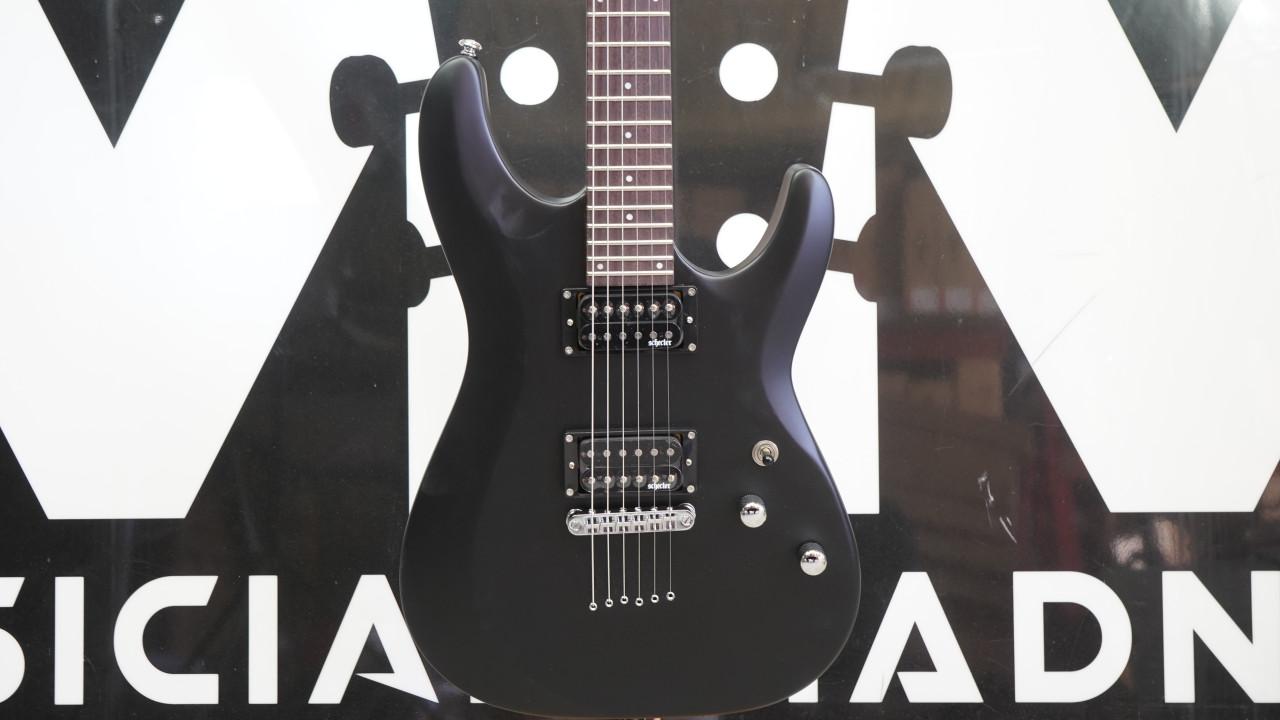 Schecter C-6 Deluxe Satin Black B stock