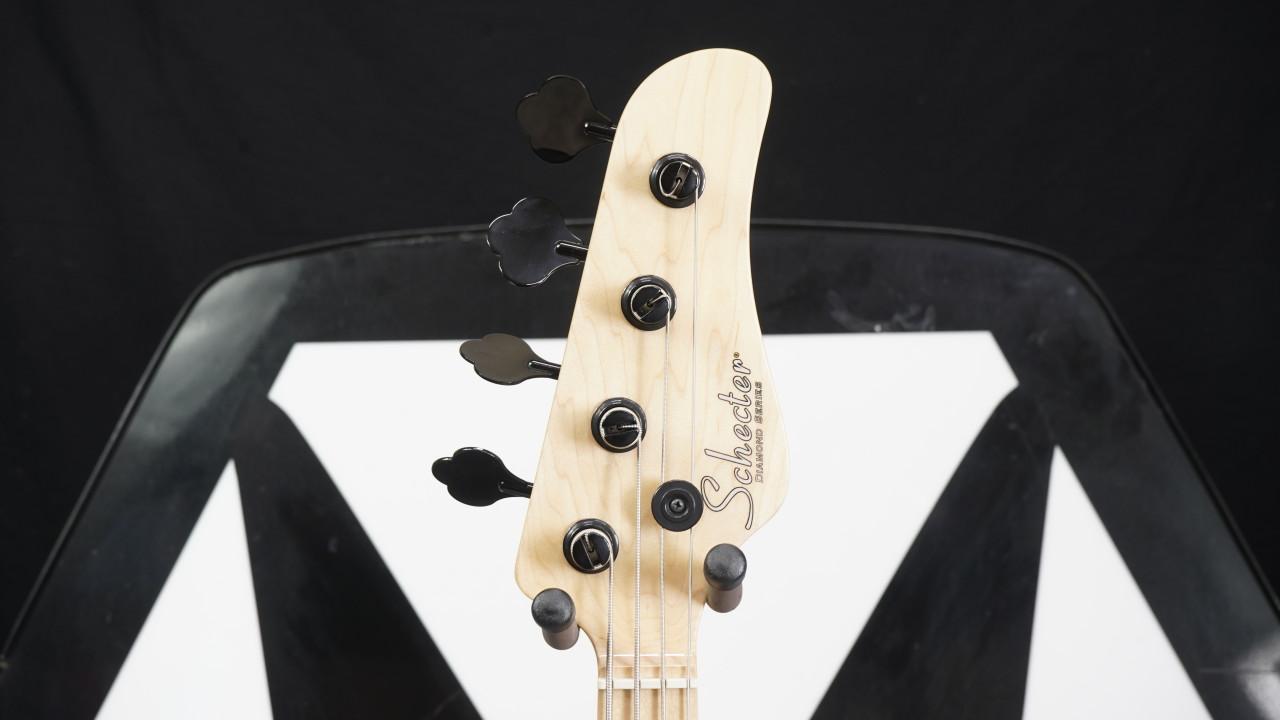 Schecter 2910-SHC J-4 RH 4-String Electric Bass-Seafoam Green B Stock