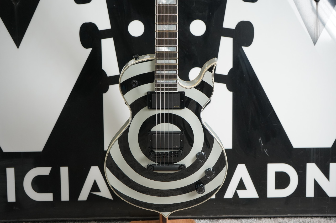 Wylde Audio Odin Grail Silver 6-String Electric Guitar 2020 B Stock