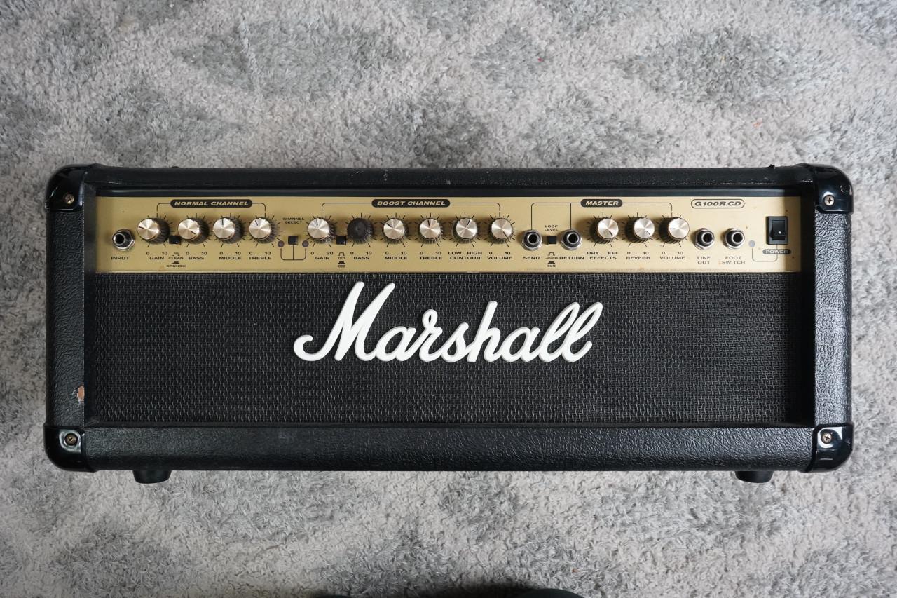 Marshall G100RCD 2-Channel 100-Watt Guitar Amp Head Used