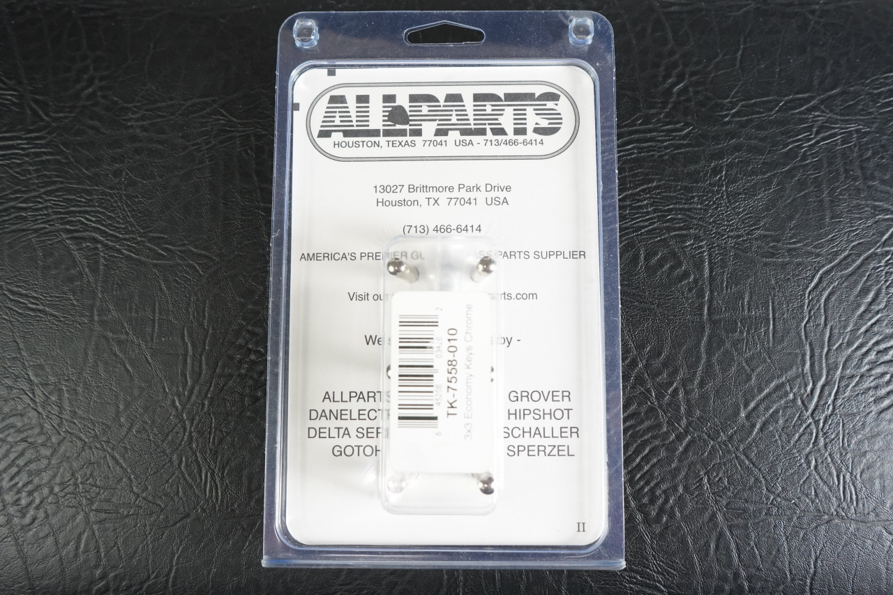 Allparts TK-7558 ECONOMY DIAGONAL MOUNT 3X3 KEYS