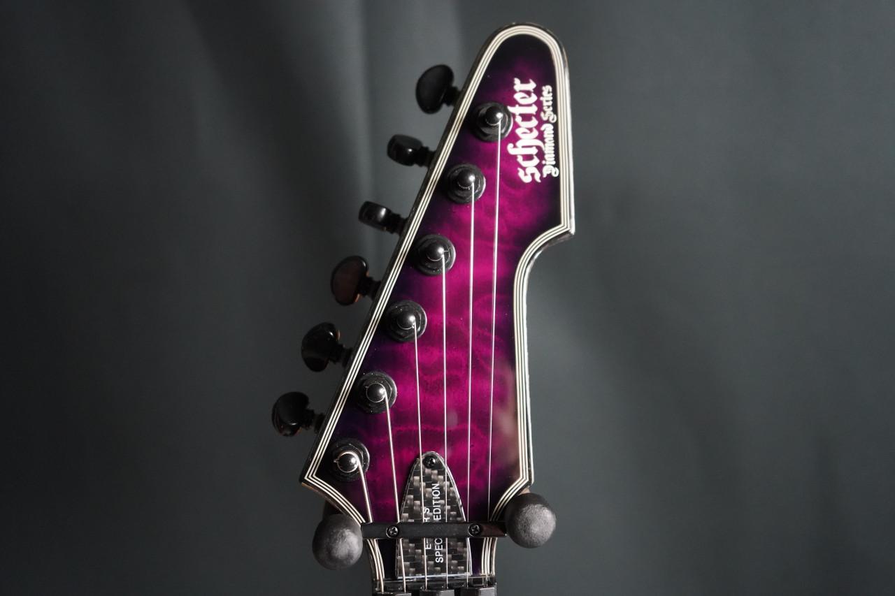 Schecter E-1 Floyd Rose Sustainiac Special Edition Trans Purple Burst (B-Stock)