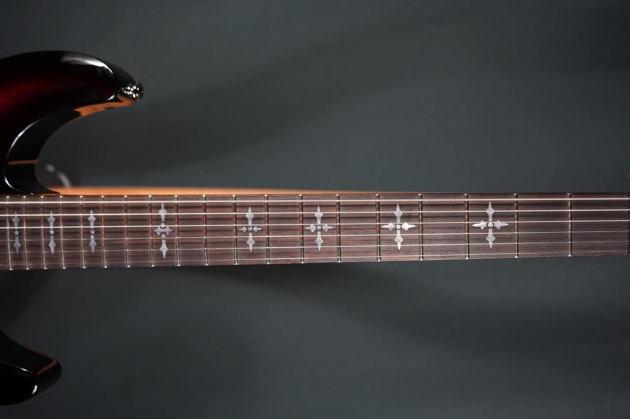 Schecter Demon 6 Electric Guitar Crimson Red Burst