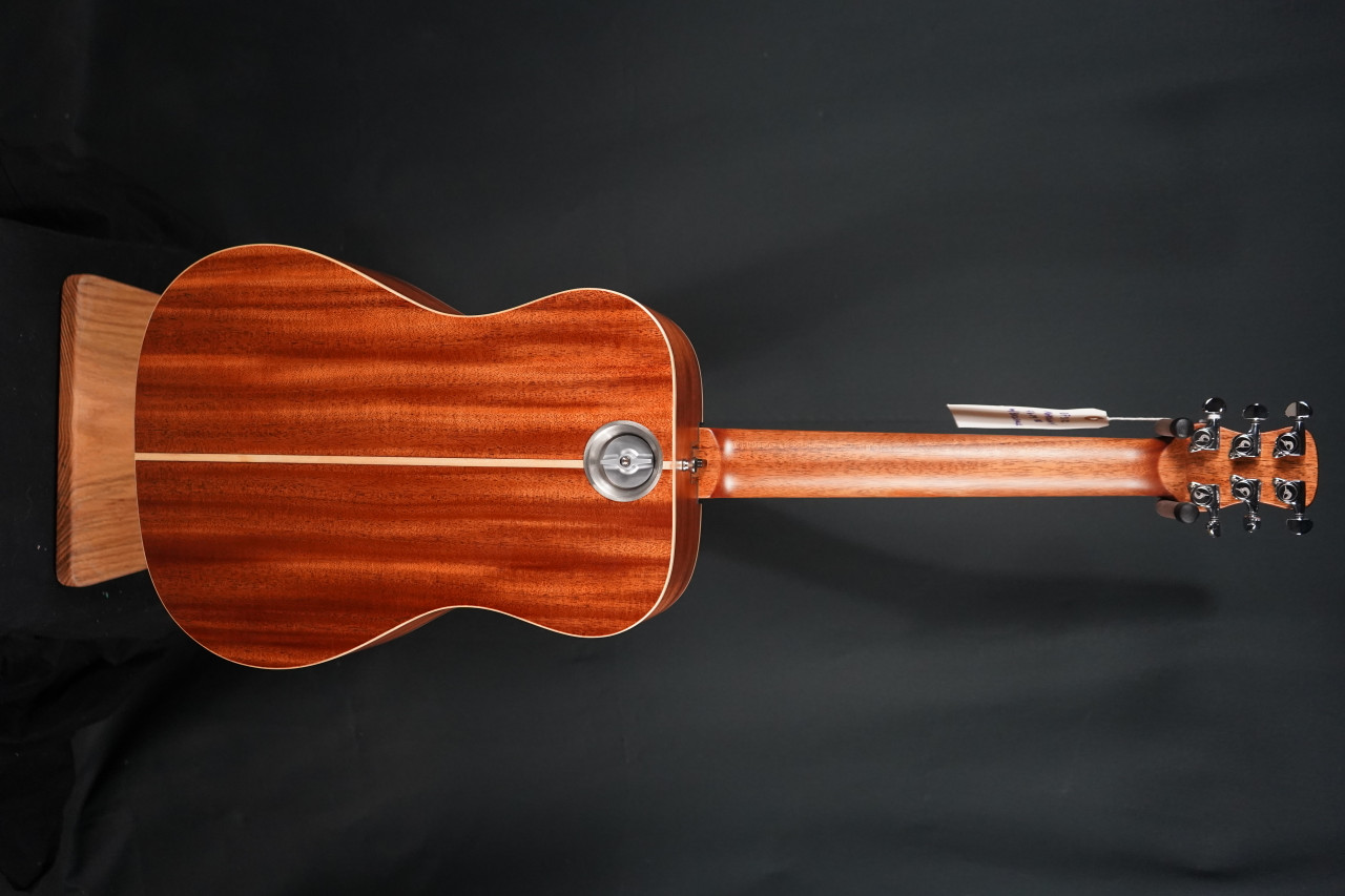 Journey Instruments OF310 Overhead Top Quality Travel Guitar Mahogany Collapsible w/Backpack