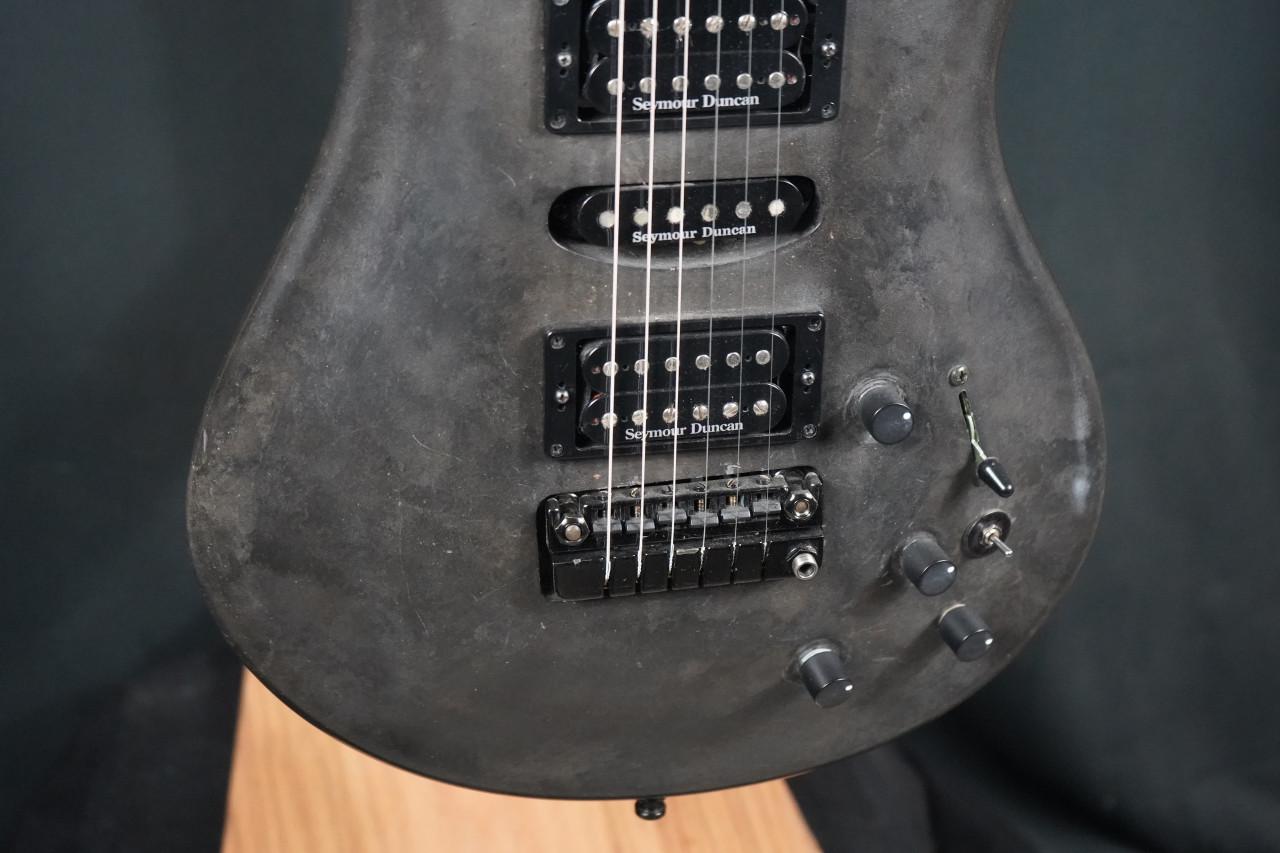 Eklein/Flaxwood Steam Punk Electric Guitar w/Piezo