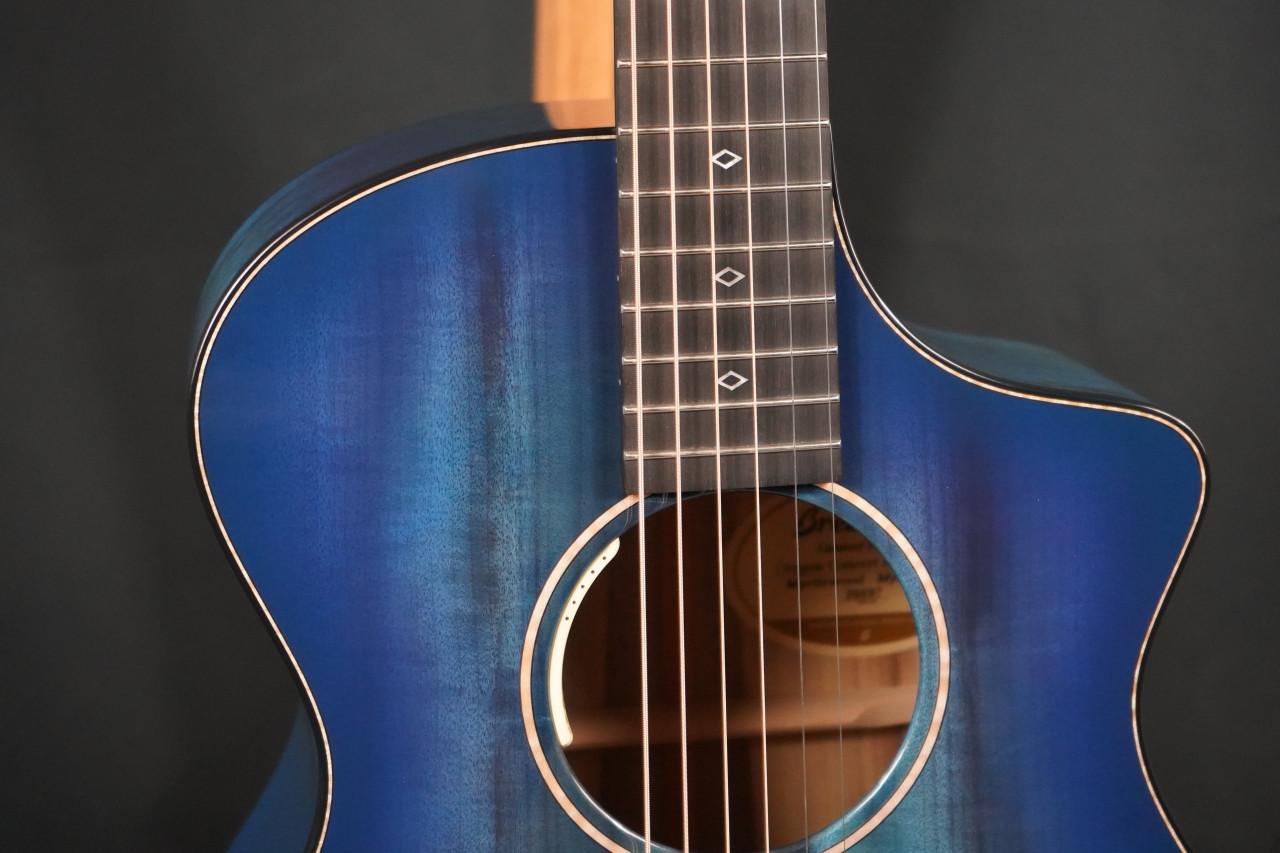 Breedlove Oregon Concert Blue Eyes CE Myrtlewood/Myrtlewood LTD