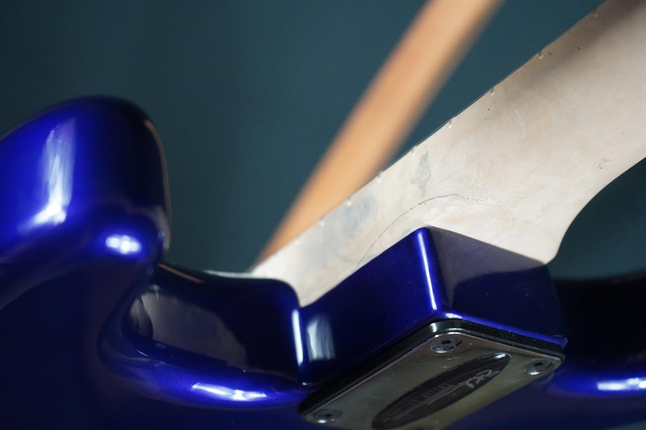 Eklein/Flaxwood Stratocaster Placid Blue (Damaged Neck (Used)