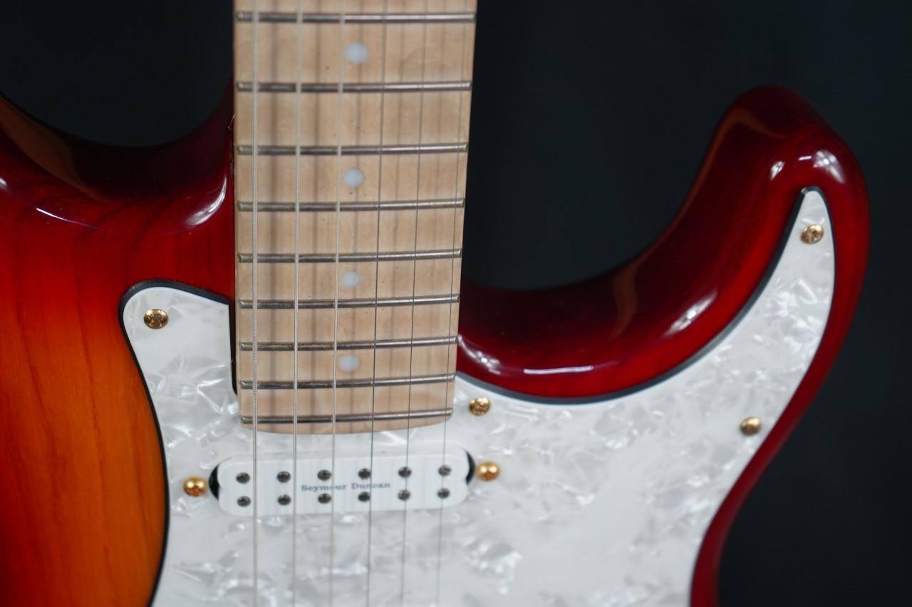 Eklein Flaxwood Guitar Sienna Burst Strat Electric Guitar