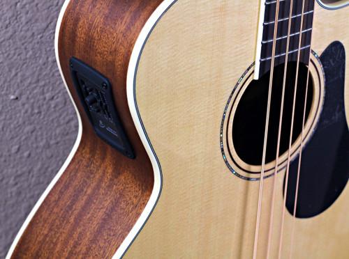 Alvarez AB60CE Acoustic Bass (Extensive neck repairs)