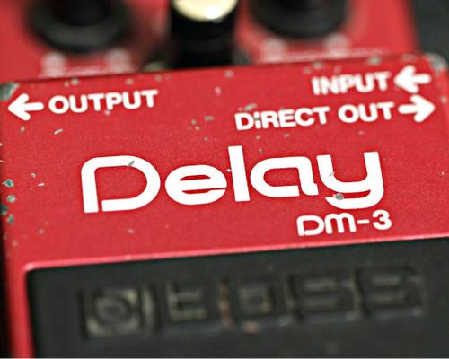 Boss DM-3 Delay Pedal MIJ - 1980s (Used)