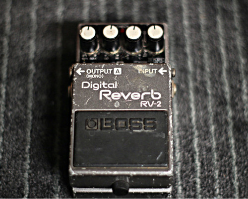 Boss RV-2 Digital Reverb Pedal MIJ (Used)