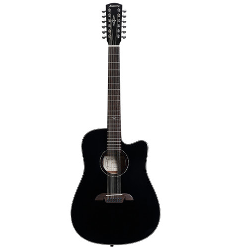 Alvarez Artist AD60-12CEBK Dreadnought 12-String  Acoustic Electric
