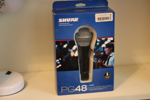 Shure PG48 Microphone (New Old Stock)