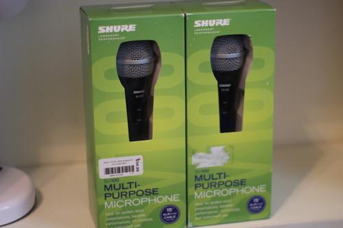 Shure SV100 Microphones (Includes 2 Microphones)