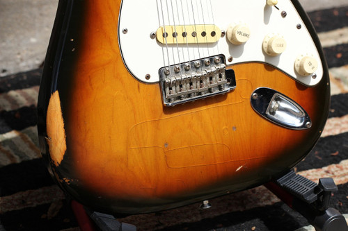 Original Fender Stratocaster 1979 Sunburst Players/Relic Guitar w/Hardshell Case