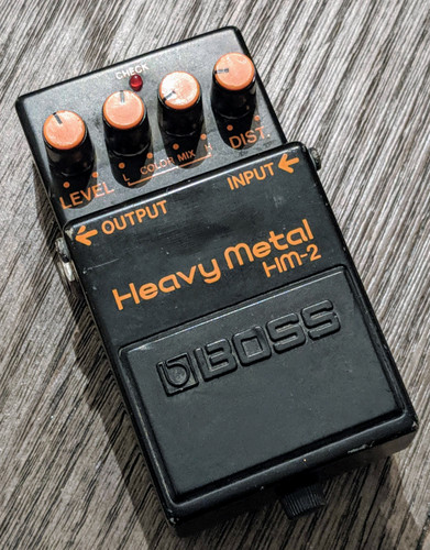 Boss Heavy Metal HM-2 (Used-Free 2-Day Shipping)