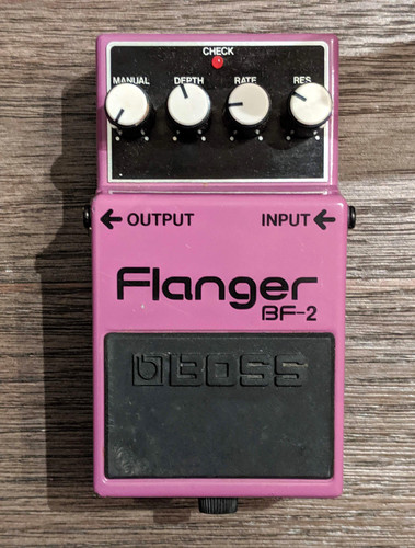 Boss Flanger BF-2 (Used-Free 2-Day Shipping)