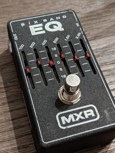 MXR 6 Band EQ Pedal (Used Free 2-Day Shipping)
