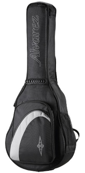 Alvarez AGB-15BT Alvarez 15mm Duo-Foam Deluxe Gug Bag - Baritone