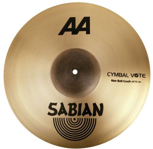 """Sabian 20"""" RAW BELL CRASH AA"""