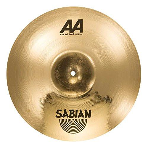 """Sabian 16"""" RAW BELL CRASH AA BR."""