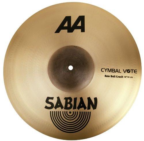"""Sabian 18"""" RAW BELL CRASH AA BR."""