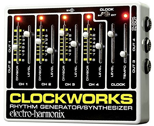 Electro Harmonix CLOCKWORKS Rhythm/Generator/Synthesizer 18DC-500 PSU Included