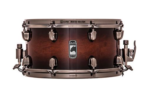 Mapex Black Panther 13-Inch Snare Drum - Transparent Walnut