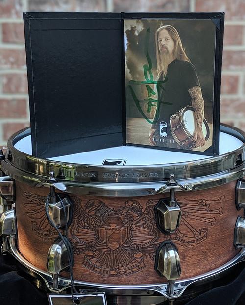 Mapex Black Panther Artist Series Snare Drum - Chris Adler Warbird