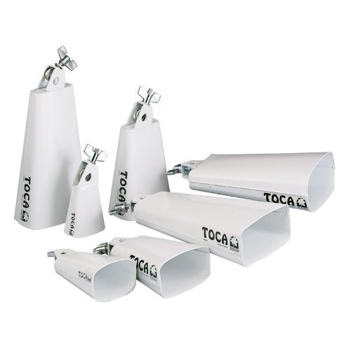 Toca a 4427-T Contemporary Series Cowbell, Mambo - White Powder Coat