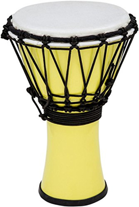 Toca a TFCDJ-7PY Colorsound 7-Inch Djembe, Pastel Yellow