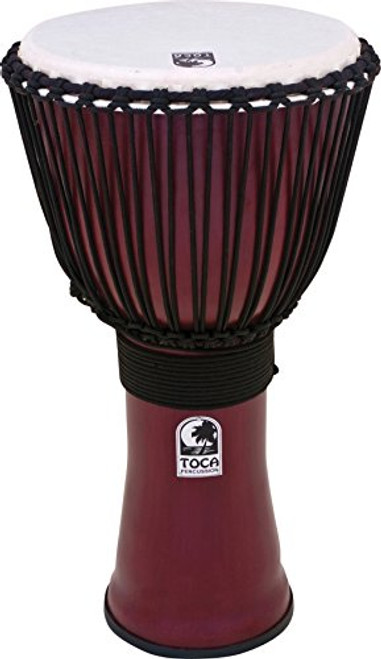 Toca a Freestyle II Rope-Tuned Djembe 9 in. African Dance