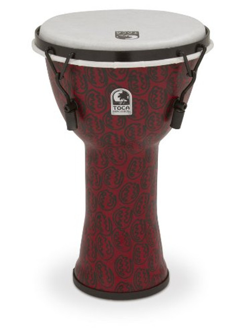 Toca a TF2DM-9RM Freestyle II Mechanically Tuned 9-Inch Djembe - Red Mask Finish