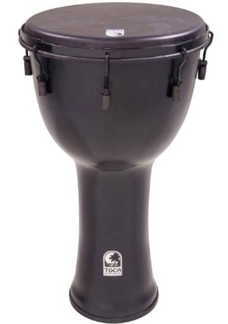 Toca a SFDMX-12BM Freestyle Black Mamba Mechanically Tuned 12-Inch Djembe