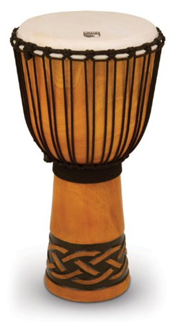 Toca a TODJ-12CK Origins Series Rope Tuned Wood 12-Inch Djembe - Celtic Knot Finish