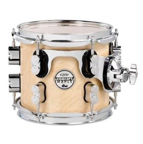 Drum Workshop Pdp Concept Maple Natural Chrome Hw 7x8
