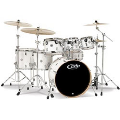 Drum Workshop Pearlescent White - Chrm Hw 7 Pcs