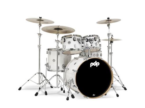 Drum Workshop Pearlescent White - Chrm Hw 5 Pcs